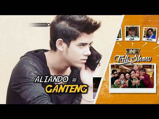 Cocokologi Aliando adalah anak kandung Sule - Ini Talk Show Spesial 2 tahun (Part 5/6)