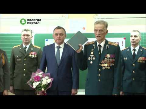 25 кадетов школы № 15 получили свои удостоверения из рук Главы Вологды Евгения Шулепова