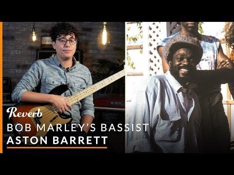 Bob Marley's Bassist Aston Barrett: Bass Guitar Techniques   Reverb