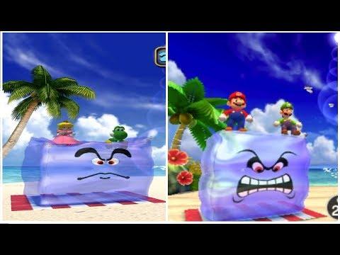 Mario Party: The Top 100 vs. Mario Party 4 - All Mini-Games Comparison (GCN vs. 3DS)