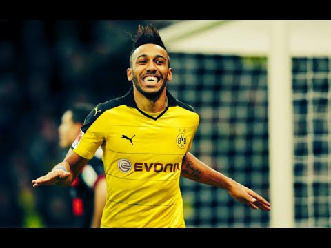 Pierre-Emerick Aubameyang | Goals 2015/2016 | BVB | [HD]