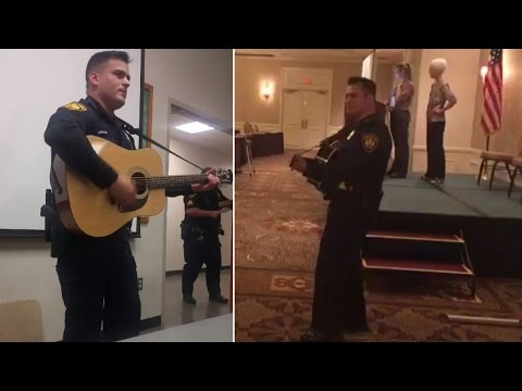 Meet the Singing Cop Who Sounds Just Like Johnny Cash