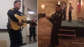 Meet the Singing Cop Who Sounds Just Like Johnny Cash thumbnail