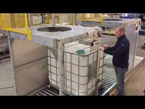 Rotajet IBC washing and Tote washing System