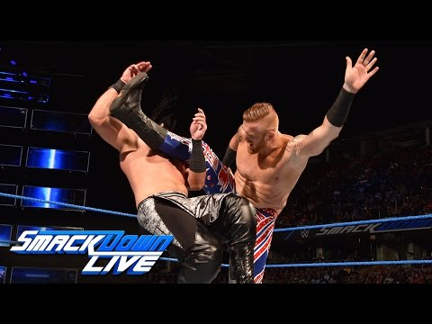Heath Slater and Rhyno & American Alpha vs. The Usos & The Ascension: SmackDown LIVE, Sept. 27, 2016