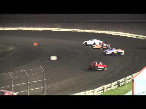 Shiverfest Sport Mod Heat 4 Lee County Speedway 10/25/14