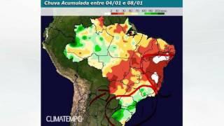 Chuva no BR até 13/1/2017