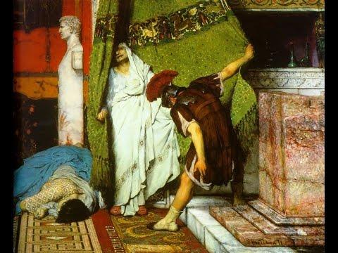 TIBERIO CLAUDIO (10 a.c.) Pasajes de la historia (La rosa de los vientos)