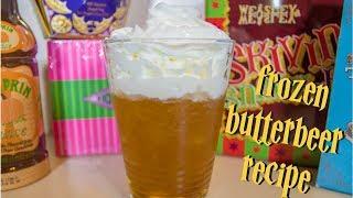 Frozen Butterbeer Recipe ⚡️