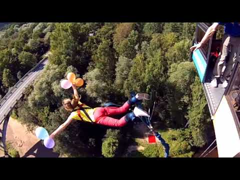 Bungee jumping in Latvia