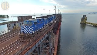 LS&I Railroad: Unloading the Marquette Ore Dock (Remastered Version)