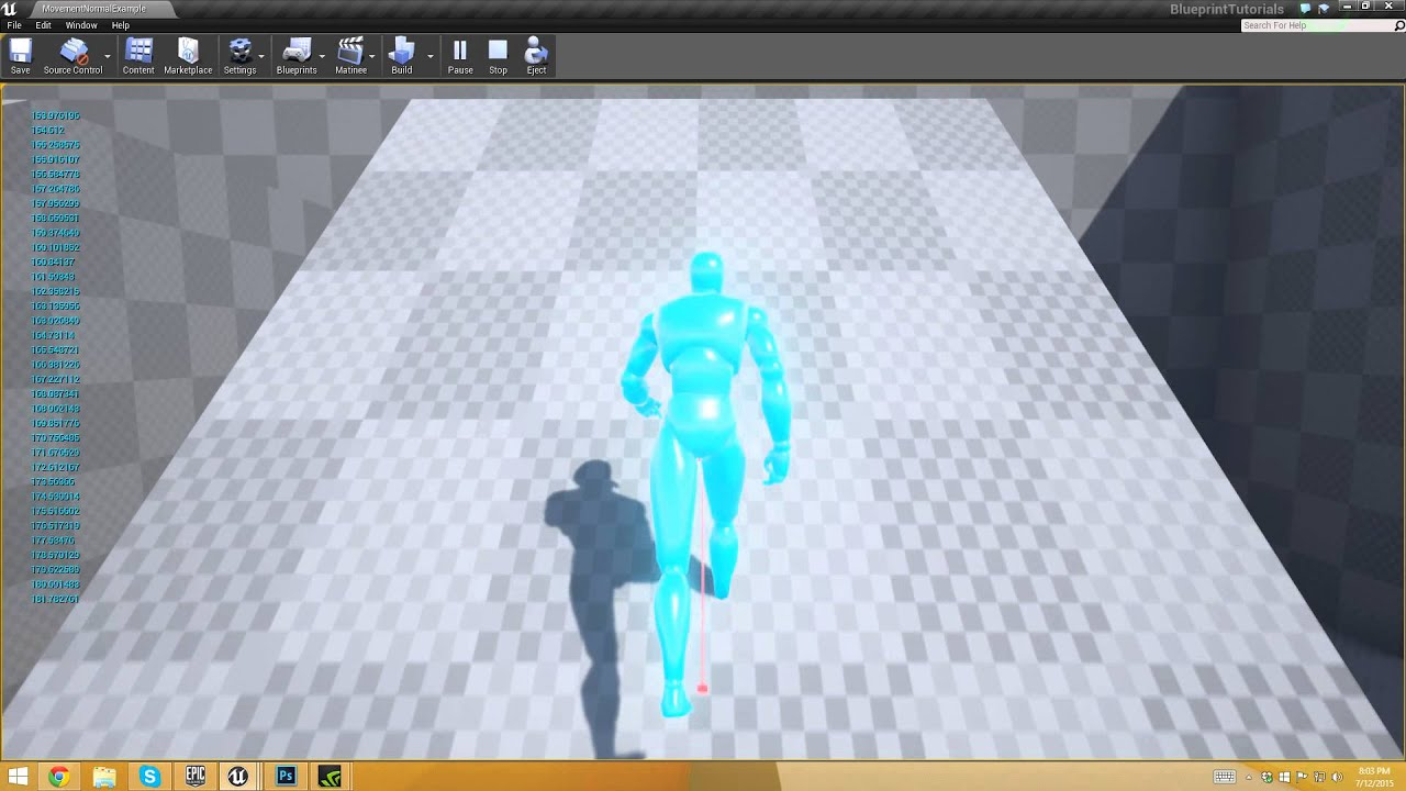 Unreal Engine 4: Let's Make: Character Speed based on Slope | Greg