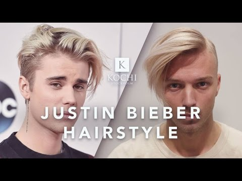 Justin Bieber Hairstyle & Haircut Tutorial 2017 | Mens Long Hair Style