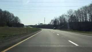 Massachusetts Turnpike (Interstate 90 Exits 3 to 6) eastbound