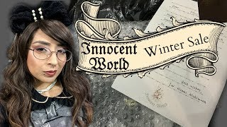 2017 Innocent World Winter Sale Unboxing | Kitty Caesar