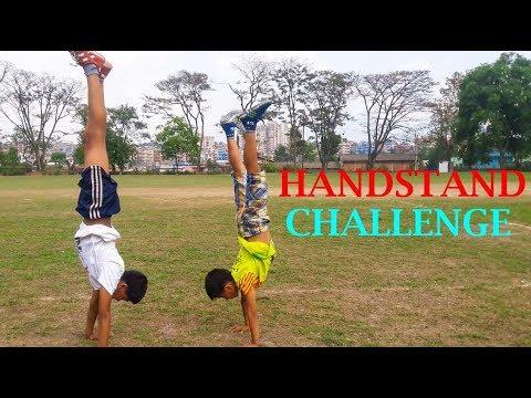 Walking on Handstand Challenge! 2018 | ASquare Crew | Abhay n Aayush