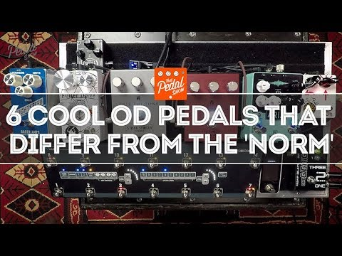 Six Cool Overdrives From Terry, Keeley, Free The Tone, Greuter & Greer