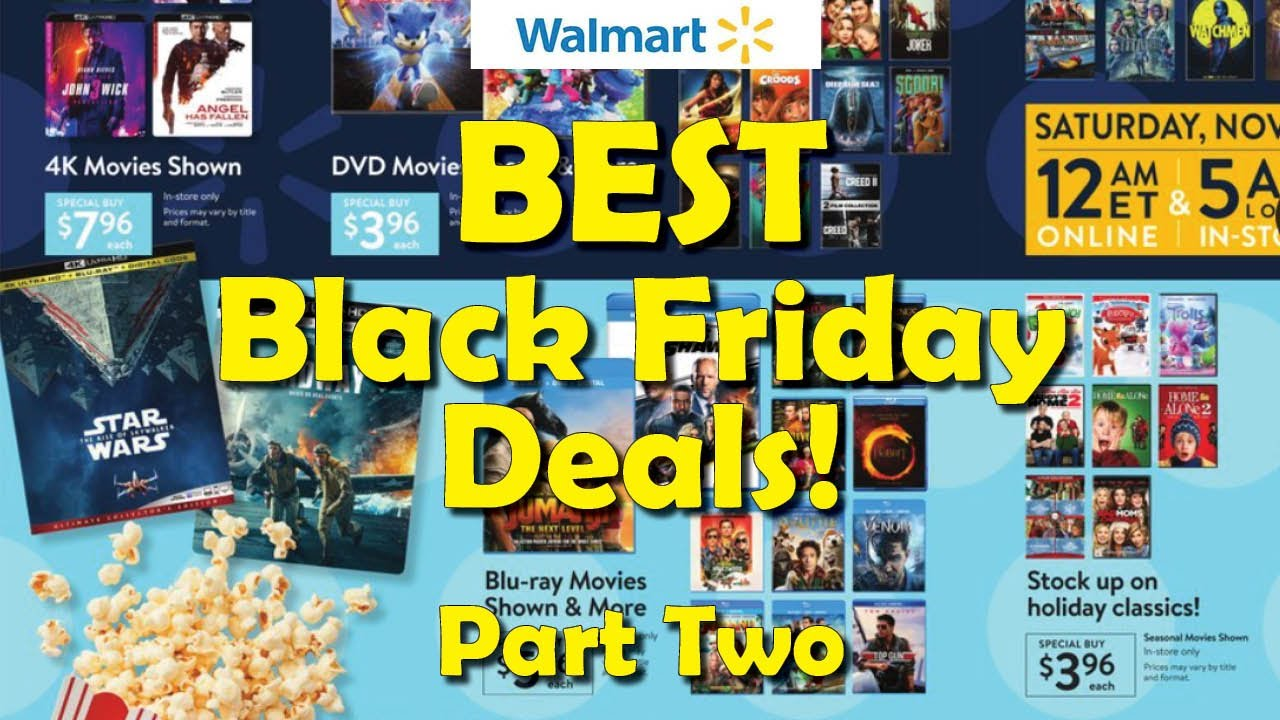 Best Walmart Black Friday Deals Part Two 2020 Youtube