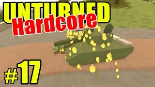 Unturned HARD Mode - TANK RAGE - Ep. 17 (Overgrown 3+ Map)