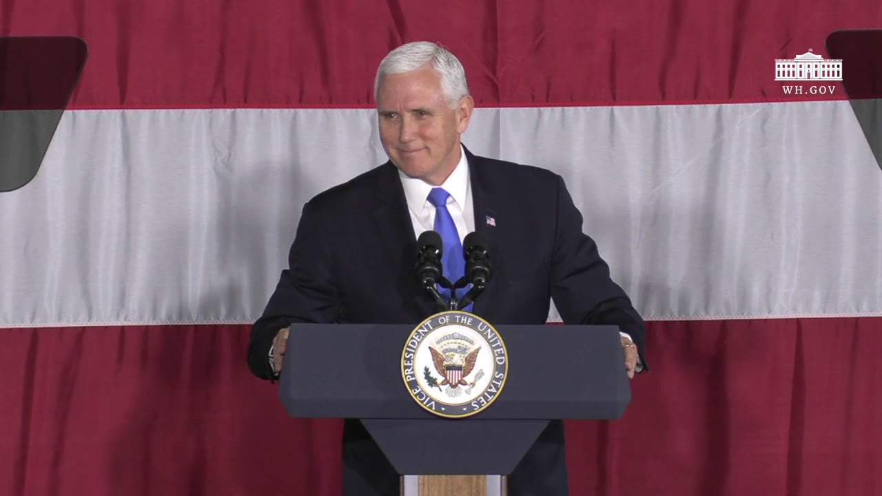 Vice President Pence Delivers Remarks to NASA Langley Research Center Personnel and Guests - The Whi