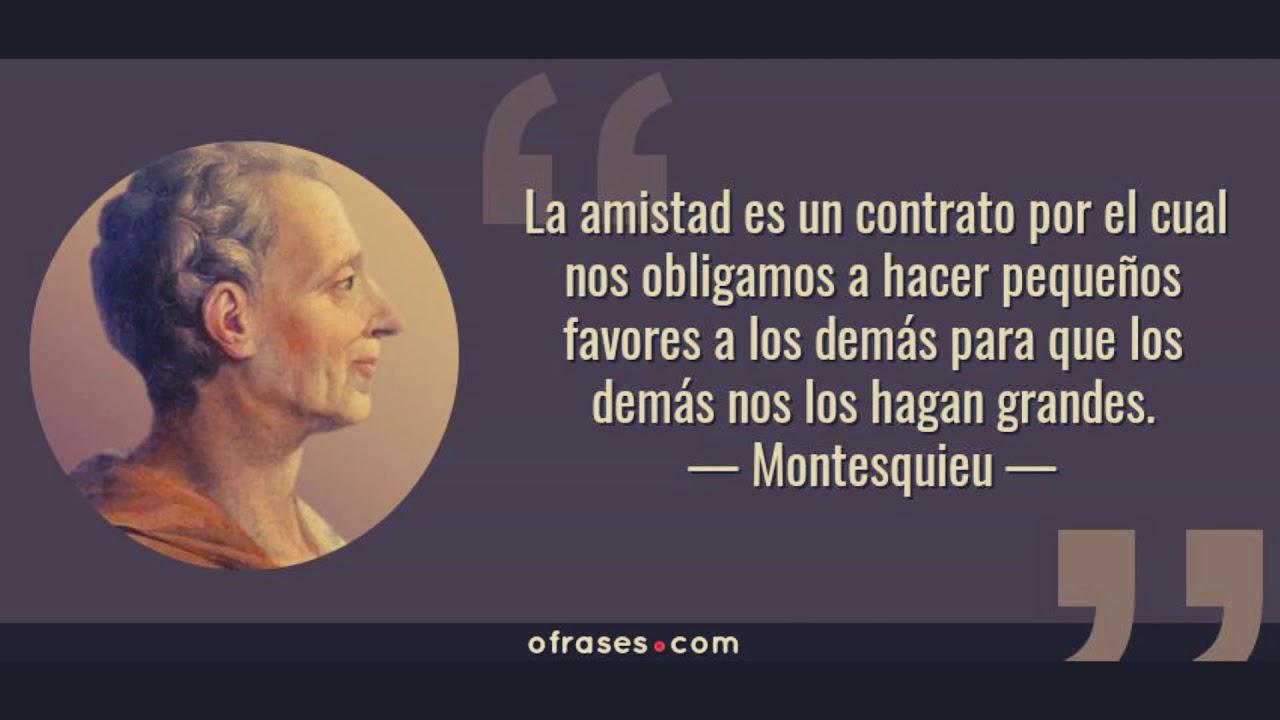 Montesquieu Biografía Ideas Frases Obras Y Mucho Más