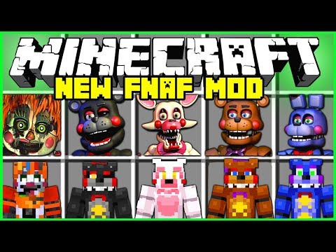 Minecraft NEW FIVE NIGHTS AT FREDDY'S MOD | FREDDY, FOXY, CHICA, BB & MORE! | Modded Mini Game thumbnail