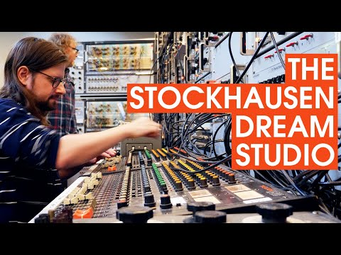 Visiting Willem Twee Studios - A Modern Early Electronic Music Studio