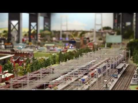 Wunderland in 5 minutes – model building – model railway Hamburg
