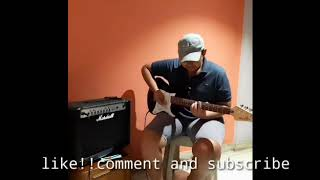 Saari raat (official  video)|| by-bharatt/saurabh ||on Guitar ||