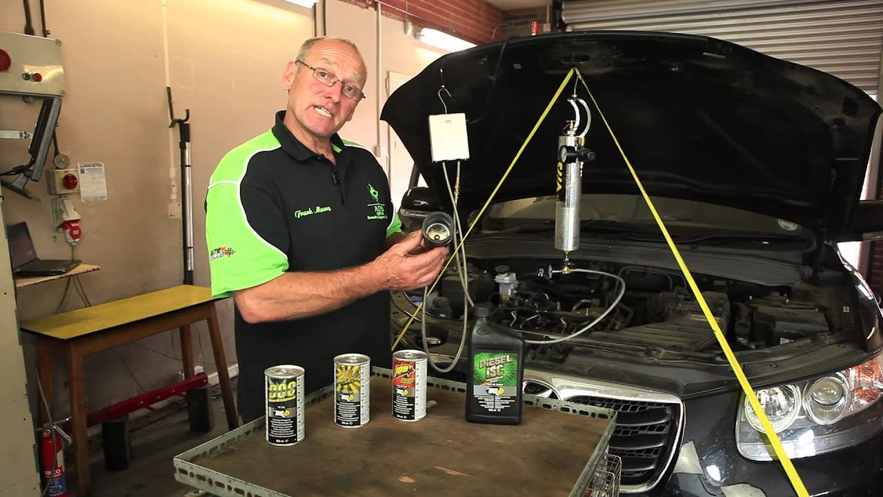 Frank Massey Tests The Bg Products Air Intake Service