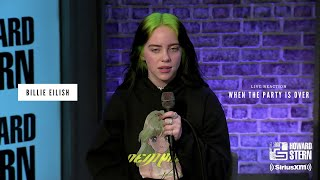 Billie Eilish- When the Party is Over LIVE Reaction (Howard Stern Show)