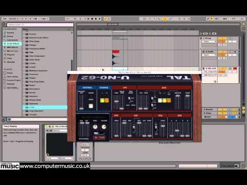 Adding full-range impact to sounds using white noise bursts