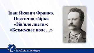 Урок 16. Українська література 10 клас