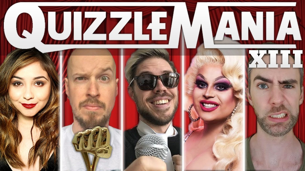 QuizzleMania XIII feat. Jaymes Mansfield & Denise Salcedo