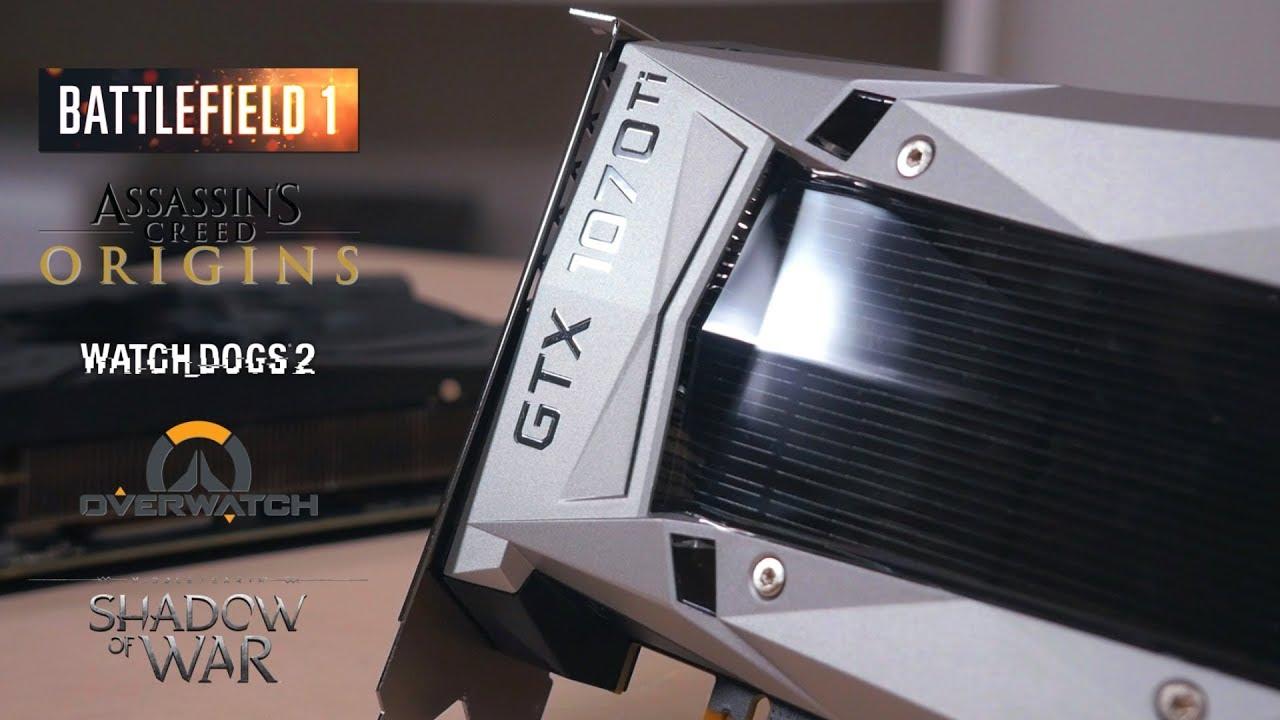 GeForce GTX 1070ti vs GTX 1070. Тесты в FullHD, QuadHD и 4K