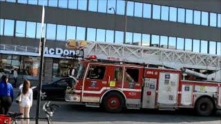 montreal spare nova quintek fire truck 494 responding