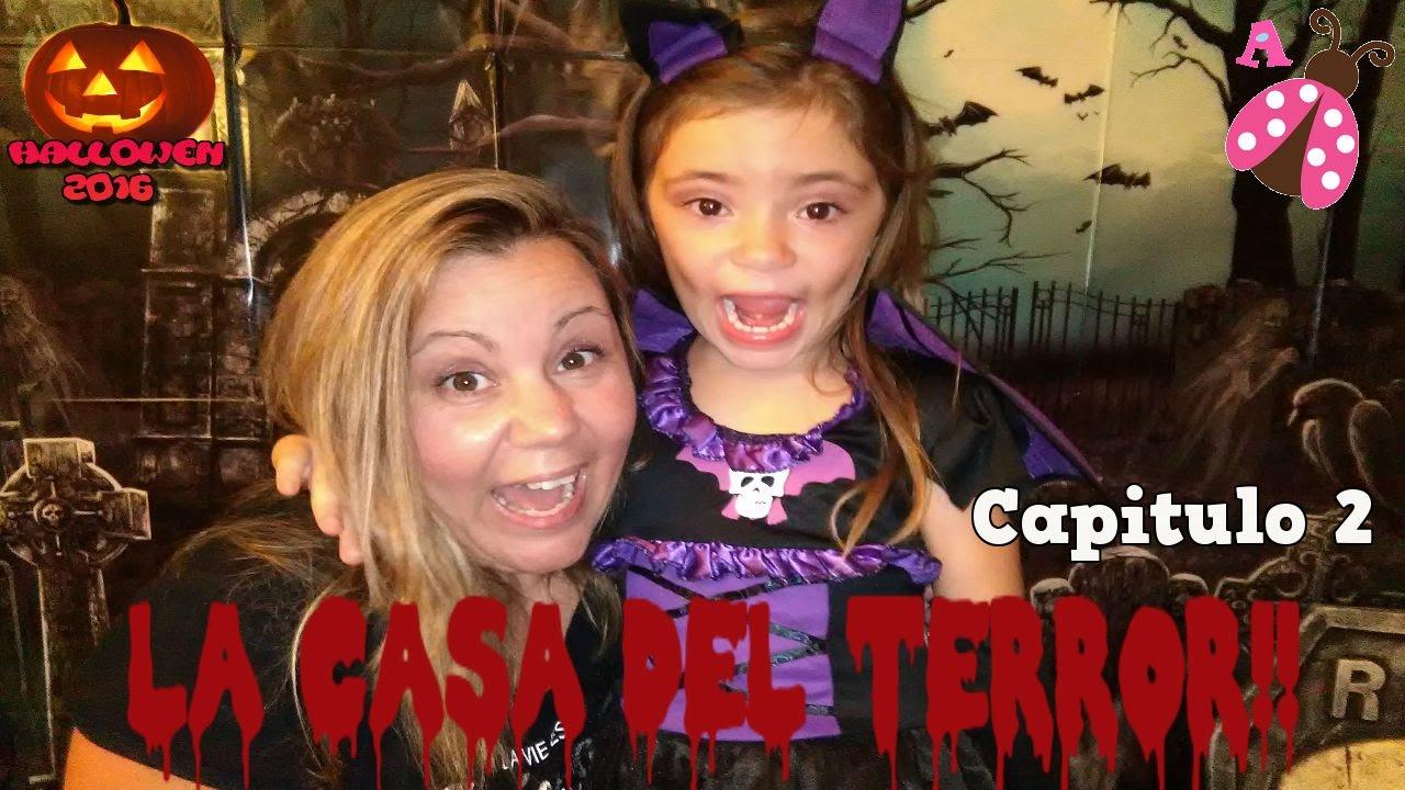 Especial De Halloween La Casa Del Terror La Casa Encantada Capitulo 2 Youtube