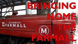 bringing home the FARMALL M!!