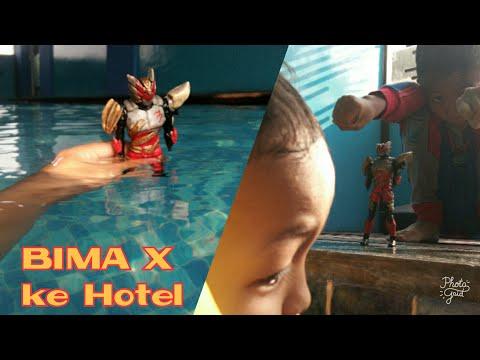 Bima X Nginap Di Hotel Whiz Prime Bandar Lampung [Berenang dan Salto Seru]