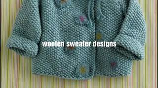 New sweater design for kids or baby- ideas for kids sweater
