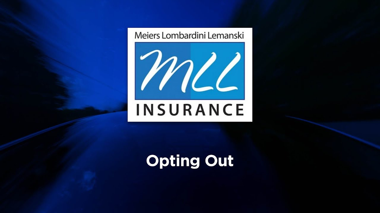 No Fault Insurance Reform - Opting Out - YouTube