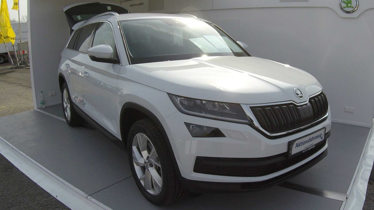 Skoda Kodiaq Compilation 4 Moon White Magnetic Brown