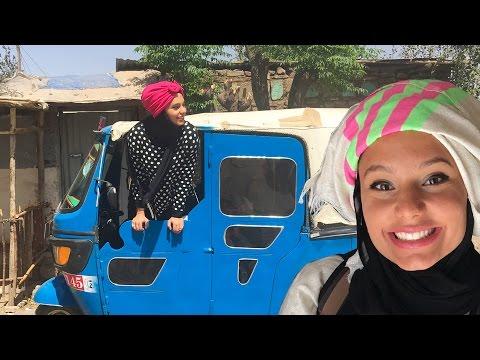 عربيّة تتحول إلى أثيوبيّة | Arab girl going Ethiopian