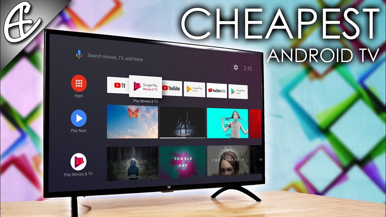 Cheapest Android Tv Ever Xiaomi Mi Tv 4c Pro Unboxing