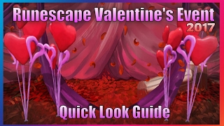 RuneScape - Valentines Week event 2017 (Quick Look Guide)