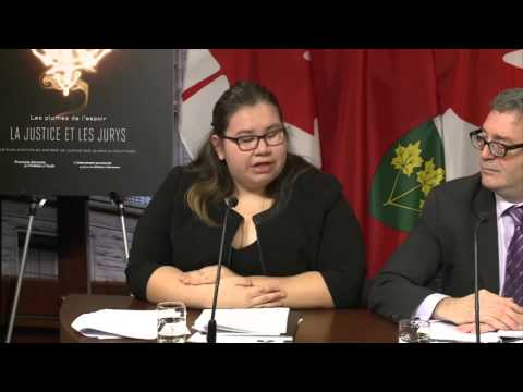 Feathers of Hope, Justice and Juries: A First Nations Youth Action Plan for Justice-Report release