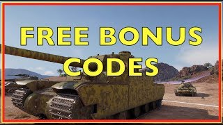 WOT - Free Bonus Code Give Away | World of Tanks