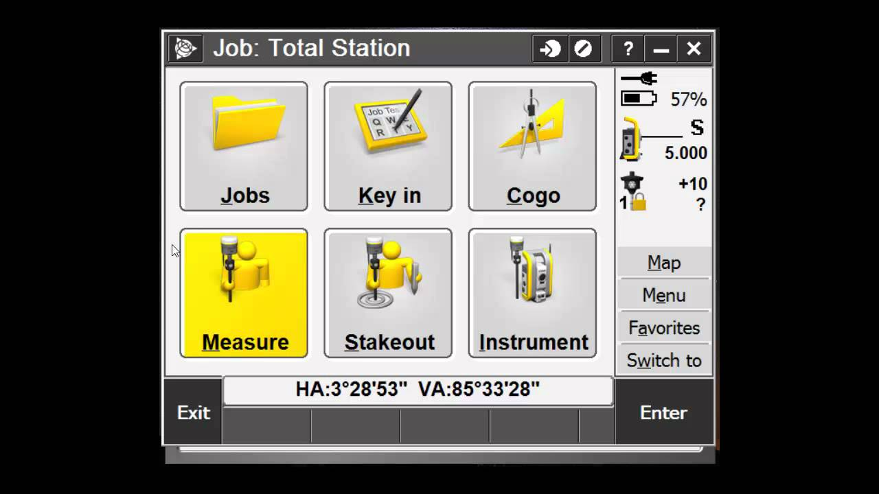 station setup for total stations in trimble access doovi. Black Bedroom Furniture Sets. Home Design Ideas
