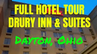 Full Hotel Tour: Drury Inn & Suites Dayton North, Dayton, OH