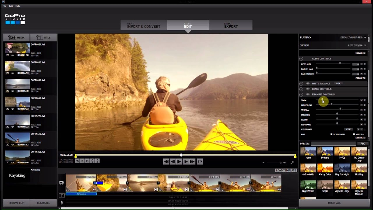 Zooming and Cropping GoPro Studio 2 0 GoPro Tips and Tricks